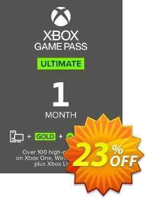 1 Month Xbox Game Pass Ultimate Xbox One / PC discount coupon 1 Month Xbox Game Pass Ultimate Xbox One / PC Deal - 1 Month Xbox Game Pass Ultimate Xbox One / PC Exclusive offer for iVoicesoft