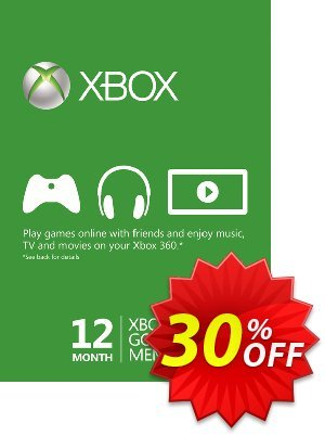 12 Month Xbox Live Gold Membership BRAZIL 프로모션 코드 12 Month Xbox Live Gold Membership BRAZIL Deal 프로모션: 12 Month Xbox Live Gold Membership BRAZIL Exclusive offer for iVoicesoft