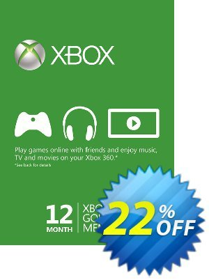 12 Month Xbox Live Gold Membership - (EU) discount coupon 12 Month Xbox Live Gold Membership - (EU) Deal - 12 Month Xbox Live Gold Membership - (EU) Exclusive offer for iVoicesoft