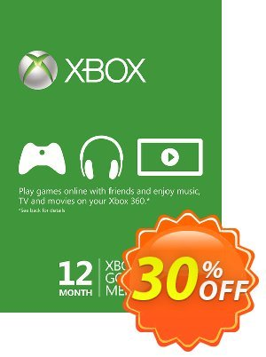 12 Month Xbox Live Gold Membership (MEA) discount coupon 12 Month Xbox Live Gold Membership (MEA) Deal - 12 Month Xbox Live Gold Membership (MEA) Exclusive offer for iVoicesoft