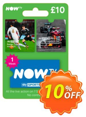 NOW TV - Sky Sports 1 Week Pass discount coupon NOW TV - Sky Sports 1 Week Pass Deal - NOW TV - Sky Sports 1 Week Pass Exclusive offer for iVoicesoft