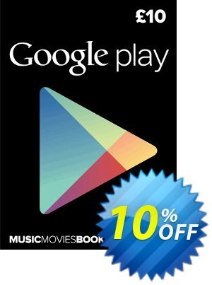 Google Play Gift Card £10 GBP discount coupon Google Play Gift Card £10 GBP Deal - Google Play Gift Card £10 GBP Exclusive offer for iVoicesoft