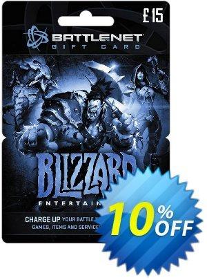 Battlenet 15 GBP Gift Card Coupon discount Battlenet 15 GBP Gift Card Deal