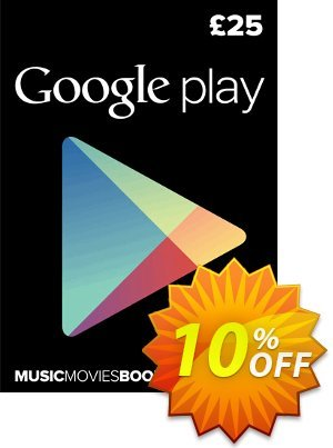 Google Play Gift Card £25 GBP discount coupon Google Play Gift Card £25 GBP Deal - Google Play Gift Card £25 GBP Exclusive offer for iVoicesoft