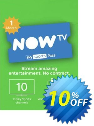NOW TV - 1 Month Sports Pass discount coupon NOW TV - 1 Month Sports Pass Deal - NOW TV - 1 Month Sports Pass Exclusive offer for iVoicesoft
