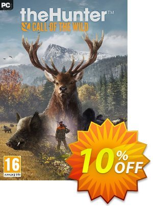 The Hunter Call of the Wild PC割引コード・The Hunter Call of the Wild PC Deal キャンペーン:The Hunter Call of the Wild PC Exclusive offer for iVoicesoft