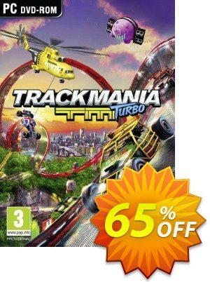 TrackMania Turbo PC Coupon, discount TrackMania Turbo PC Deal. Promotion: TrackMania Turbo PC Exclusive offer for iVoicesoft