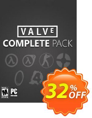 Valve Complete Pack PC Coupon, discount Valve Complete Pack PC Deal. Promotion: Valve Complete Pack PC Exclusive offer for iVoicesoft