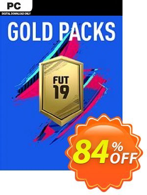 FIFA 19 - Jumbo Premium Gold Packs DLC PC Coupon, discount FIFA 19 - Jumbo Premium Gold Packs DLC PC Deal. Promotion: FIFA 19 - Jumbo Premium Gold Packs DLC PC Exclusive offer for iVoicesoft