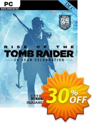 Rise of the Tomb Raider 20 Year Celebration Pack DLC Coupon, discount Rise of the Tomb Raider 20 Year Celebration Pack DLC Deal. Promotion: Rise of the Tomb Raider 20 Year Celebration Pack DLC Exclusive offer for iVoicesoft