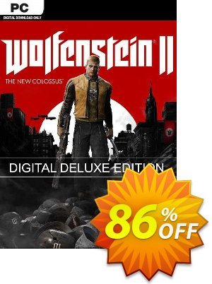 Wolfenstein II 2 The New Colossus Deluxe Edition PC discount coupon Wolfenstein II 2 The New Colossus Deluxe Edition PC Deal - Wolfenstein II 2 The New Colossus Deluxe Edition PC Exclusive offer for iVoicesoft