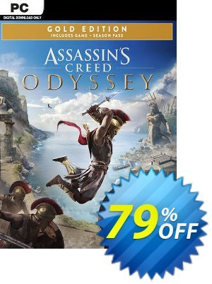 Assassins Creed Odyssey - Gold PC Coupon, discount Assassins Creed Odyssey - Gold PC Deal. Promotion: Assassins Creed Odyssey - Gold PC Exclusive offer for iVoicesoft