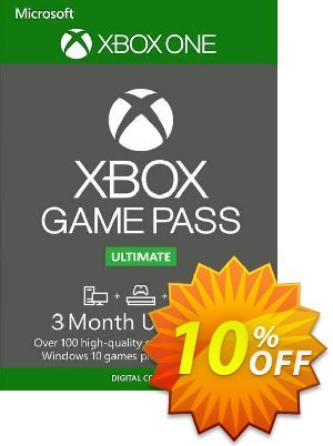 3 Month Xbox Game Pass Ultimate Trial Xbox One / PC discount coupon 3 Month Xbox Game Pass Ultimate Trial Xbox One / PC Deal - 3 Month Xbox Game Pass Ultimate Trial Xbox One / PC Exclusive offer for iVoicesoft
