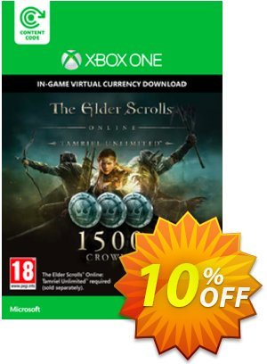 The Elder Scrolls Online Tamriel Unlimited 1500 Crowns Xbox One - Digital Code discount coupon The Elder Scrolls Online Tamriel Unlimited 1500 Crowns Xbox One - Digital Code Deal - The Elder Scrolls Online Tamriel Unlimited 1500 Crowns Xbox One - Digital Code Exclusive offer for iVoicesoft