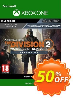 The Division 2 - Warlords of New York Xbox One discount coupon The Division 2 - Warlords of New York Xbox One Deal - The Division 2 - Warlords of New York Xbox One Exclusive offer for iVoicesoft