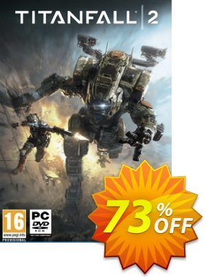 Titanfall 2 PC Coupon, discount Titanfall 2 PC Deal. Promotion: Titanfall 2 PC Exclusive offer for iVoicesoft
