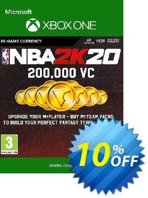 NBA 2K20: 200,000 VC Xbox One 優惠券,折扣碼 NBA 2K20: 200,000 VC Xbox One Deal,促銷代碼: NBA 2K20: 200,000 VC Xbox One Exclusive offer for iVoicesoft