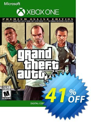 Grand Theft Auto V 5: Premium Online Edition Xbox One discount coupon Grand Theft Auto V 5: Premium Online Edition Xbox One Deal - Grand Theft Auto V 5: Premium Online Edition Xbox One Exclusive offer for iVoicesoft