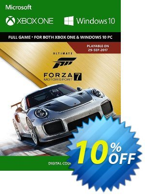 Forza Motorsport 7 Ultimate Edition Xbox One/PC discount coupon Forza Motorsport 7 Ultimate Edition Xbox One/PC Deal - Forza Motorsport 7 Ultimate Edition Xbox One/PC Exclusive offer for iVoicesoft