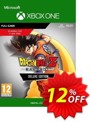 Dragon Ball Z: Kakarot Deluxe Edition Xbox One discount coupon Dragon Ball Z: Kakarot Deluxe Edition Xbox One Deal - Dragon Ball Z: Kakarot Deluxe Edition Xbox One Exclusive offer for iVoicesoft