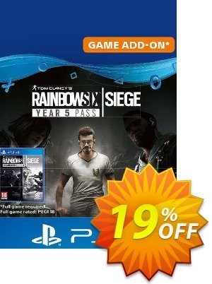 Tom Clancy's Rainbow Six Siege - Year 5 Pass PS4 (UK)割引コード・Tom Clancy's Rainbow Six Siege - Year 5 Pass PS4 (UK) Deal キャンペーン:Tom Clancy's Rainbow Six Siege - Year 5 Pass PS4 (UK) Exclusive offer for iVoicesoft