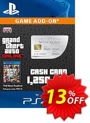 Grand Theft Auto Online (GTA V 5): Great White Shark Cash Card PS4 discount coupon Grand Theft Auto Online (GTA V 5): Great White Shark Cash Card PS4 Deal - Grand Theft Auto Online (GTA V 5): Great White Shark Cash Card PS4 Exclusive offer for iVoicesoft