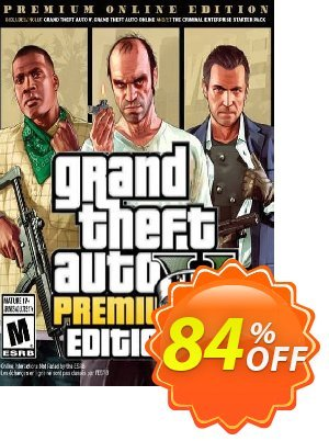 Grand Theft Auto V 5 (GTA 5): Premium Online Edition PC discount coupon Grand Theft Auto V 5 (GTA 5): Premium Online Edition PC Deal - Grand Theft Auto V 5 (GTA 5): Premium Online Edition PC Exclusive offer for iVoicesoft
