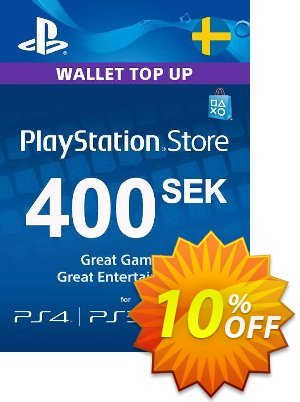 Playstation Network (PSN) Card 400 SEK (Sweden) Coupon discount Playstation Network (PSN) Card 400 SEK (Sweden) Deal. Promotion: Playstation Network (PSN) Card 400 SEK (Sweden) Exclusive offer for iVoicesoft