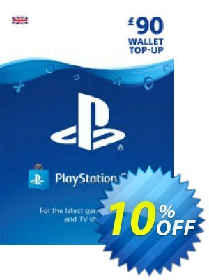 Playstation Network (PSN) Card - £90 (UK) Coupon, discount Playstation Network (PSN) Card - £90 (UK) Deal. Promotion: Playstation Network (PSN) Card - £90 (UK) Exclusive offer for iVoicesoft