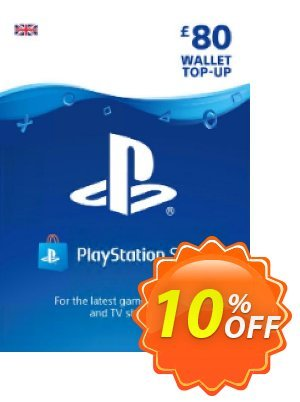 Playstation Network (PSN) Card - £80 (UK) discount coupon Playstation Network (PSN) Card - £80 (UK) Deal - Playstation Network (PSN) Card - £80 (UK) Exclusive offer for iVoicesoft