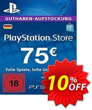 PlayStation Network (PSN) Card - 75 EUR (Germany) 프로모션 코드 PlayStation Network (PSN) Card - 75 EUR (Germany) Deal 프로모션: PlayStation Network (PSN) Card - 75 EUR (Germany) Exclusive offer for iVoicesoft