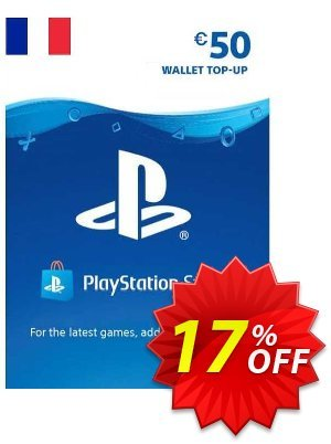 PlayStation Network (PSN) Card - 50 EUR (France) discount coupon PlayStation Network (PSN) Card - 50 EUR (France) Deal - PlayStation Network (PSN) Card - 50 EUR (France) Exclusive offer for iVoicesoft