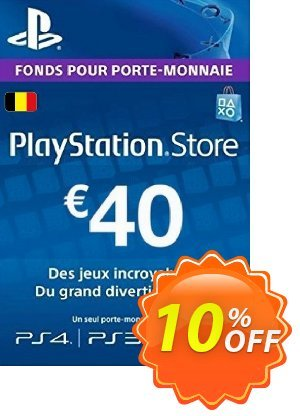 PlayStation Network (PSN) Card - 40 EUR (Belgium) discount coupon PlayStation Network (PSN) Card - 40 EUR (Belgium) Deal - PlayStation Network (PSN) Card - 40 EUR (Belgium) Exclusive offer for iVoicesoft