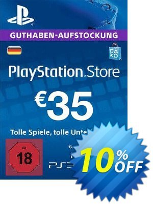 PlayStation Network (PSN) Card - 35 EUR (Germany) discount coupon PlayStation Network (PSN) Card - 35 EUR (Germany) Deal - PlayStation Network (PSN) Card - 35 EUR (Germany) Exclusive offer for iVoicesoft