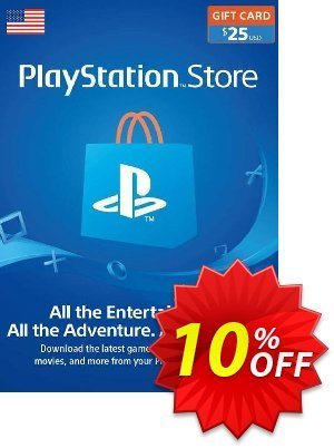 PlayStation Network (PSN) Card - 25 USD discount coupon PlayStation Network (PSN) Card - 25 USD Deal - PlayStation Network (PSN) Card - 25 USD Exclusive offer for iVoicesoft