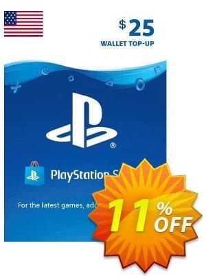 PlayStation Network (PSN) Card - 25 USD discount coupon PlayStation Network (PSN) Card - 25 USD Deal - PlayStation Network (PSN) Card - 25 USD Exclusive offer for iVoicesoft