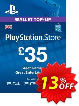 Playstation Network Card - £35 (PS Vita/PS3/PS4) discount coupon Playstation Network Card - £35 (PS Vita/PS3/PS4) Deal - Playstation Network Card - £35 (PS Vita/PS3/PS4) Exclusive offer for iVoicesoft