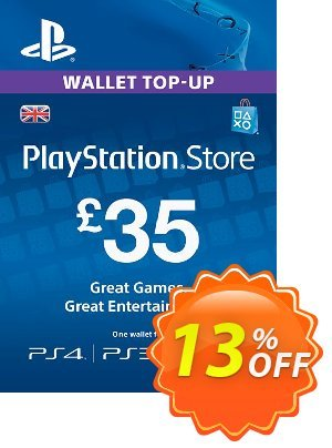 Playstation Network Card - £35 (PS Vita/PS3/PS4) 프로모션 코드 Playstation Network Card - £35 (PS Vita/PS3/PS4) Deal 프로모션: Playstation Network Card - £35 (PS Vita/PS3/PS4) Exclusive offer for iVoicesoft