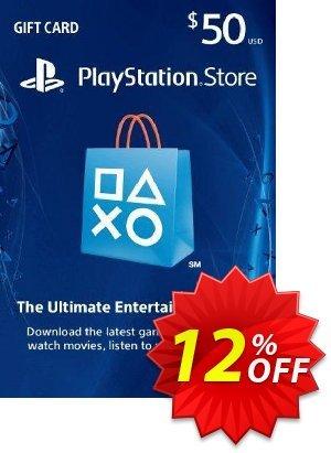 $50 PlayStation Store Gift Card - PS Vita/PS3/PS4 Code Coupon discount $50 PlayStation Store Gift Card - PS Vita/PS3/PS4 Code Deal