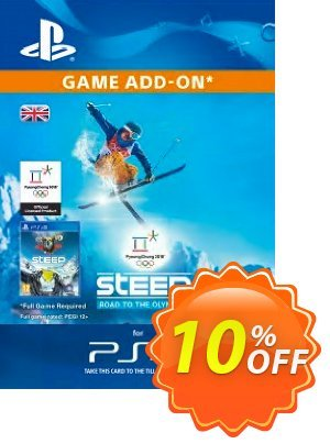 Steep: Road to the Olympics PS4 Coupon, discount Steep: Road to the Olympics PS4 Deal. Promotion: Steep: Road to the Olympics PS4 Exclusive offer for iVoicesoft