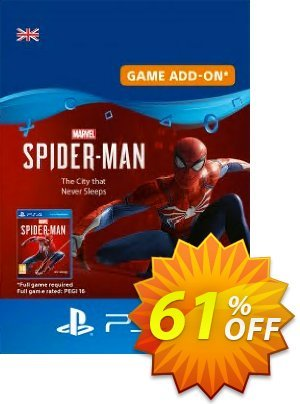 Marvels Spider-Man: The City That Never Sleeps PS4 discount coupon Marvels Spider-Man: The City That Never Sleeps PS4 Deal - Marvels Spider-Man: The City That Never Sleeps PS4 Exclusive offer for iVoicesoft