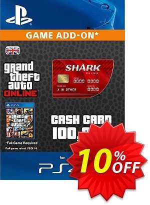 Grand Theft Auto Online (GTA V 5) Red Shark Cash Card PS4 discount coupon Grand Theft Auto Online (GTA V 5) Red Shark Cash Card PS4 Deal - Grand Theft Auto Online (GTA V 5) Red Shark Cash Card PS4 Exclusive offer for iVoicesoft