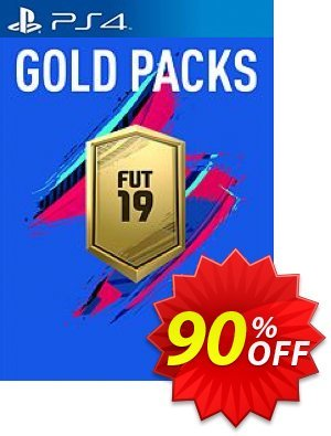 FIFA 19 - Jumbo Premium Gold Packs DLC PS4 Coupon, discount FIFA 19 - Jumbo Premium Gold Packs DLC PS4 Deal. Promotion: FIFA 19 - Jumbo Premium Gold Packs DLC PS4 Exclusive offer for iVoicesoft