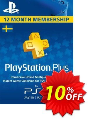 Playstation Plus - 12 Month Subscription (Sweden) discount coupon Playstation Plus - 12 Month Subscription (Sweden) Deal - Playstation Plus - 12 Month Subscription (Sweden) Exclusive offer for iVoicesoft