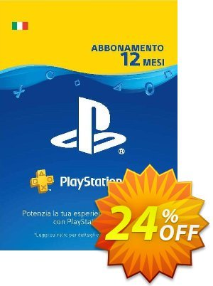PlayStation Plus (PS+) - 12 Month Subscription (Italy) discount coupon PlayStation Plus (PS+) - 12 Month Subscription (Italy) Deal - PlayStation Plus (PS+) - 12 Month Subscription (Italy) Exclusive offer for iVoicesoft