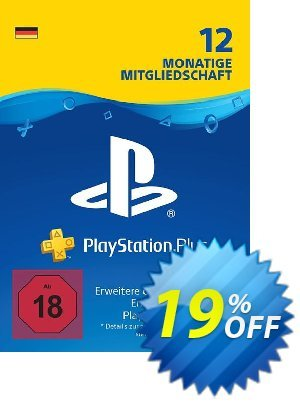 PlayStation Plus (PS+) - 12 Month Subscription (Germany) discount coupon PlayStation Plus (PS+) - 12 Month Subscription (Germany) Deal - PlayStation Plus (PS+) - 12 Month Subscription (Germany) Exclusive offer for iVoicesoft
