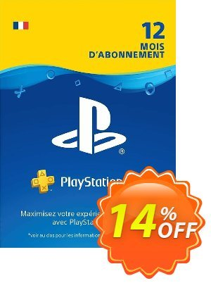PlayStation Plus (PS+) - 12 Month Subscription (France) discount coupon PlayStation Plus (PS+) - 12 Month Subscription (France) Deal - PlayStation Plus (PS+) - 12 Month Subscription (France) Exclusive offer for iVoicesoft
