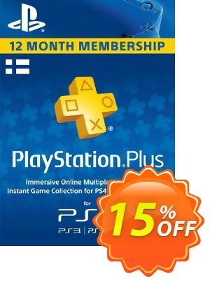 Playstation Plus - 12 Month Subscription (Finland) discount coupon Playstation Plus - 12 Month Subscription (Finland) Deal - Playstation Plus - 12 Month Subscription (Finland) Exclusive offer for iVoicesoft