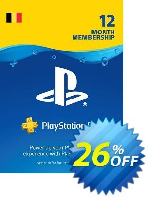 Playstation Plus (PS+) - 12 Month Subscription (Belgium) discount coupon Playstation Plus (PS+) - 12 Month Subscription (Belgium) Deal - Playstation Plus (PS+) - 12 Month Subscription (Belgium) Exclusive offer for iVoicesoft