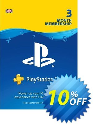 PlayStation Plus - 3 Month Subscription (UK) 프로모션 코드 PlayStation Plus - 3 Month Subscription (UK) Deal 프로모션: PlayStation Plus - 3 Month Subscription (UK) Exclusive offer for iVoicesoft